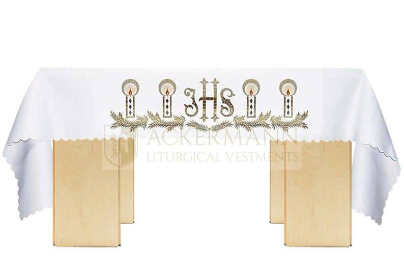 Altar cloth IHS