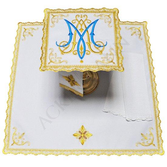 Altar linen Marian