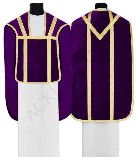 Chasuble for the Deacon and Subdeacon