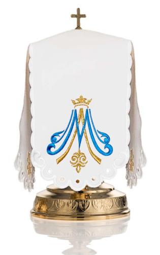 Ciborium veil Marian