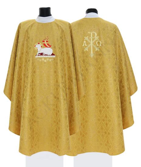 Gold Gothic Chasuble Lamb model 705