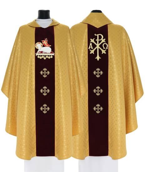 Gold Gothic Chasuble Lamb model 799