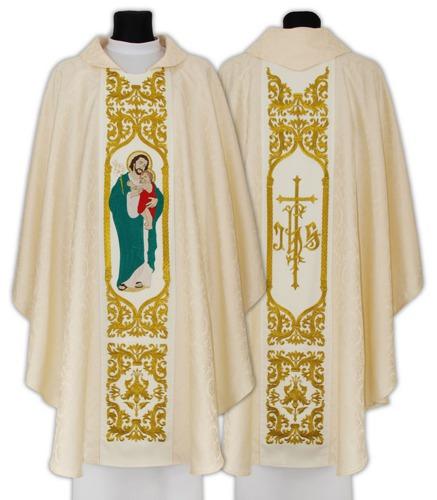Gothic Chasuble Saint Joseph husband of Mary model 658