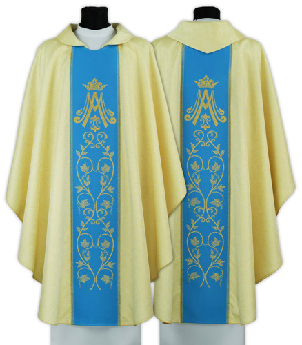 Marian Gothic Chasuble model 085