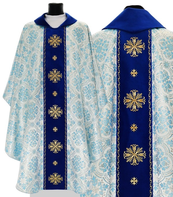 Marian Gothic Chasuble model 632