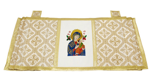 Marian Humeral veil Our Lady of Perpetual Help