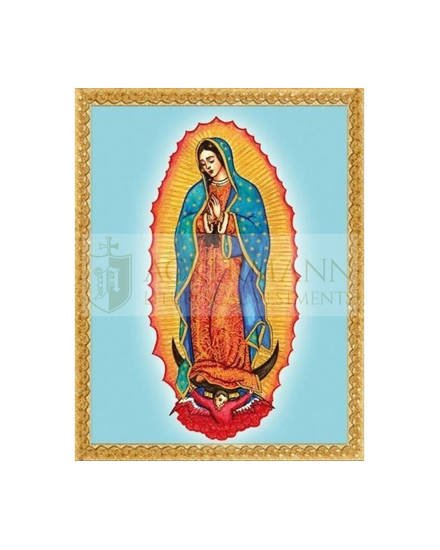 """Picture on the fabric """"Guadalupe"""""""
