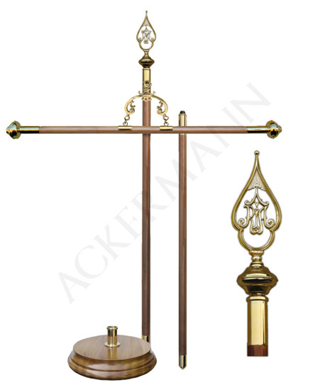 Processional Banner Stand for church