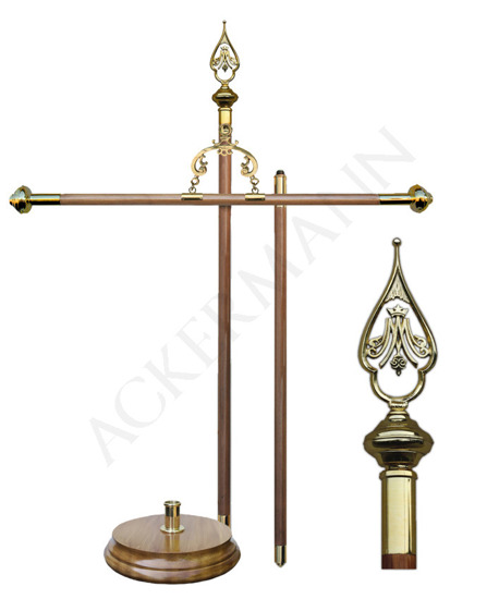 Processional Banner Stand for church BS-097