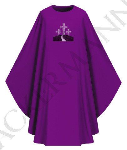 Purple Gothic Chasuble model 436
