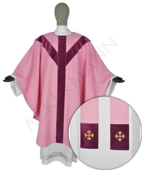 Rose Semi Gothic Chasuble